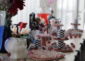 mesa de doces Monster High