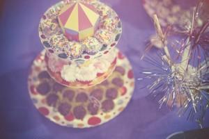 suporte de doces com tema circo