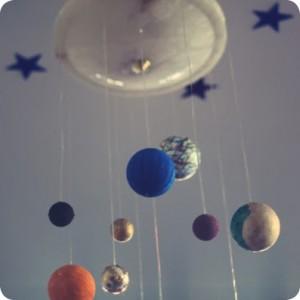 planetas para decoração de festa