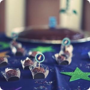 topper para decoração de doces