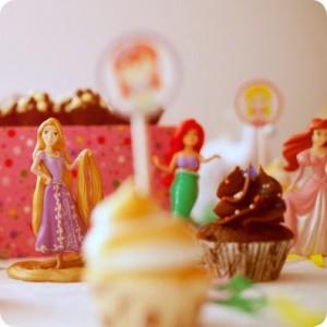 decoração de festa das princesas
