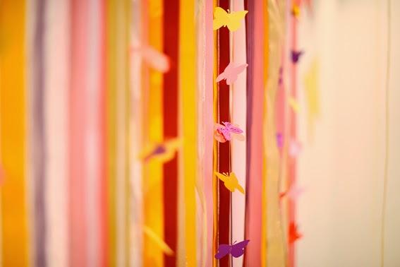 cortina de borboleta
