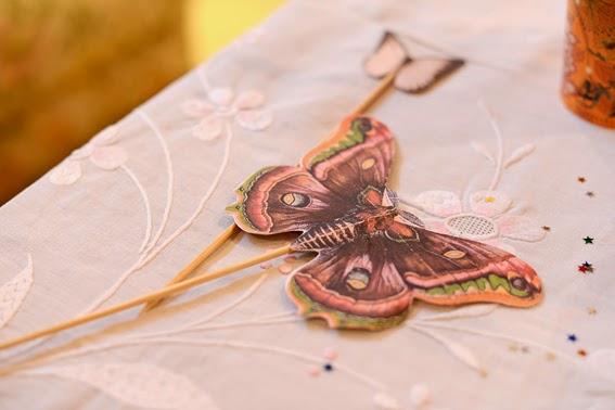 borboleta para decoração de festa