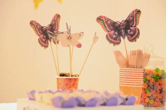 borboleta decorativas