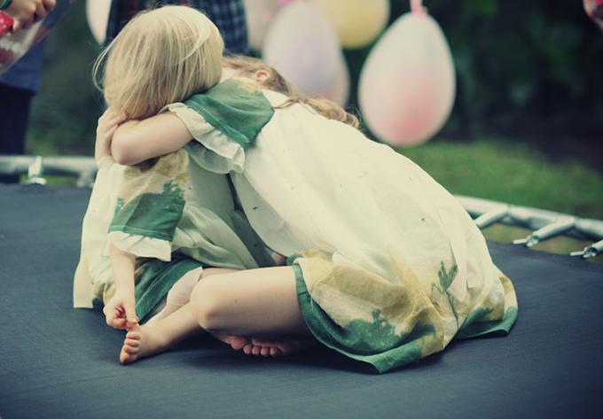 festa infantil carinho de irmã