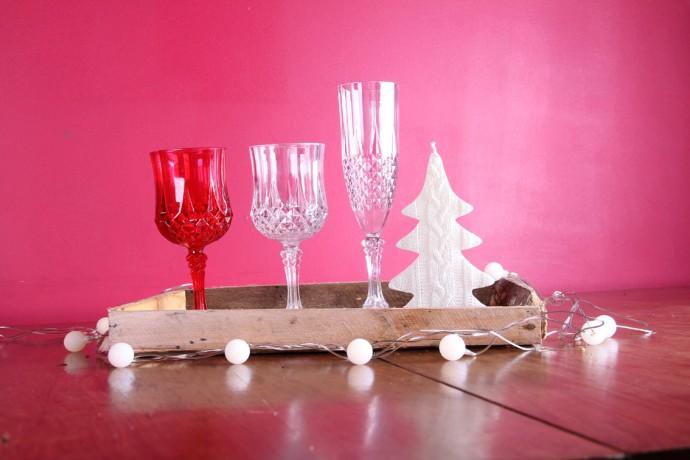 taças para natal